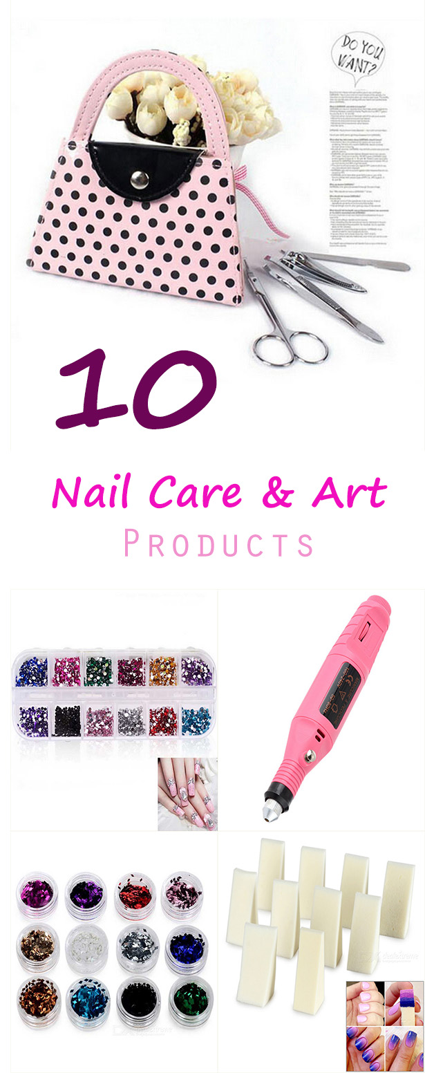 10 Nail Care Art Products - 10 Nail Care & Art Products