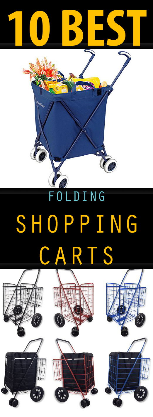 10 Best Folding Shopping Carts - 10 Best Folding Shopping Carts