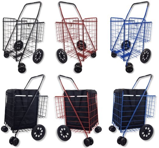 91nOLT602eL. SX522  - 10 Best Folding Shopping Carts