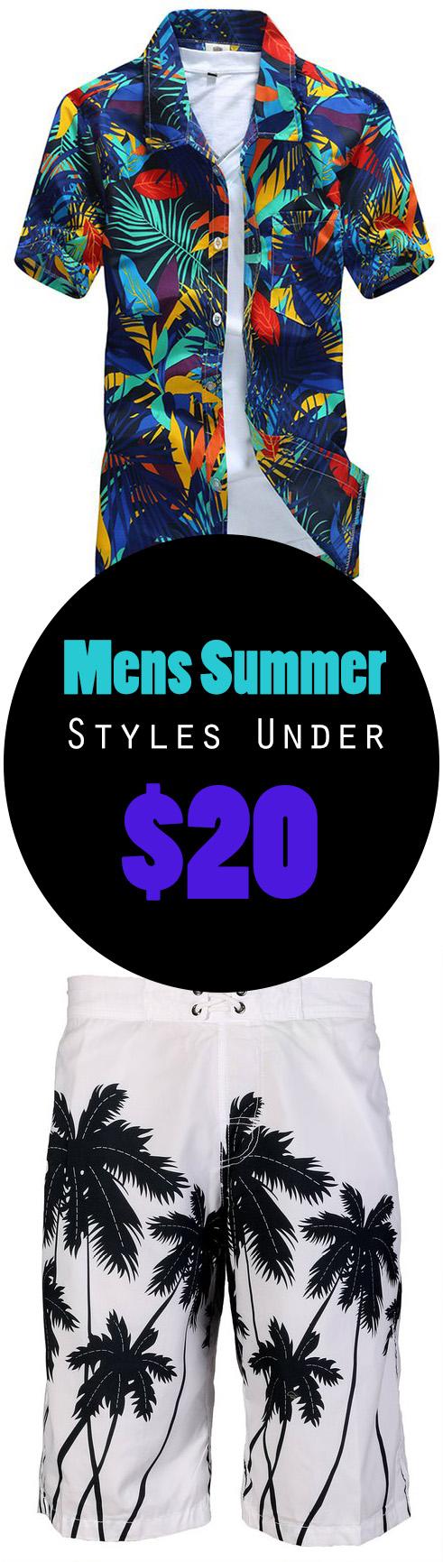 Mens Summer Styles Under 20 - Mens Summer Styles Under $20