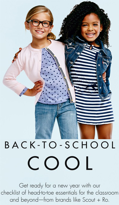 BACK TO SCHOOL COOL Get ready for a new year with our checklist of head to toe essentials for the classrom and beyond from brands like Scout Ro. - BACK-TO-SCHOOL COOL! Get ready for a new year with our checklist of head-to-toe essentials for the classroom and beyond-from brands like Scout + Ro.