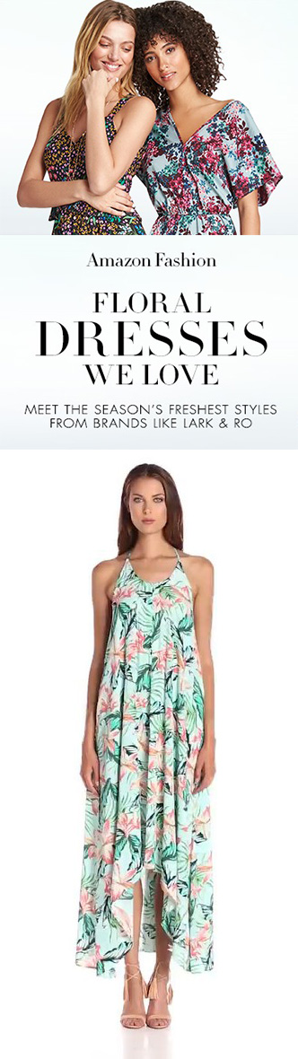 FLORAL DRESSES WE LOVE - FLORAL DRESSES WE LOVE - Meet The Season's Freshest Styles From Brands Like LARK & RO