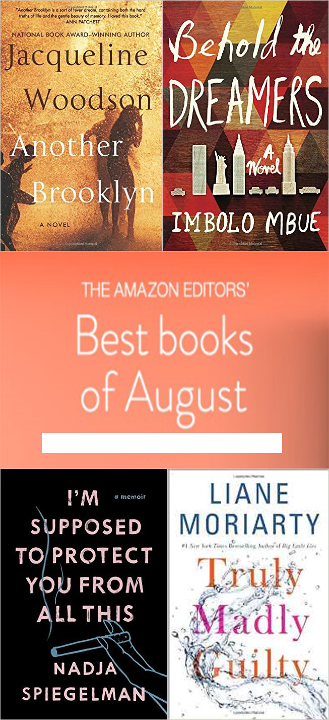 THE AMAZON EDITORS Best books of August - THE AMAZON EDITORS' Best books of August