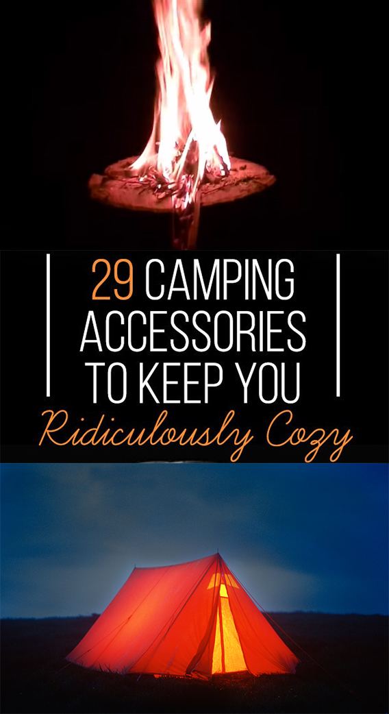 29 CAMPING ACCESSORIES TO KEEP YOU Ridiculously Cozy - 29 CAMPING ACCESSORIES TO KEEP YOU Ridiculously Cozy + Reviews
