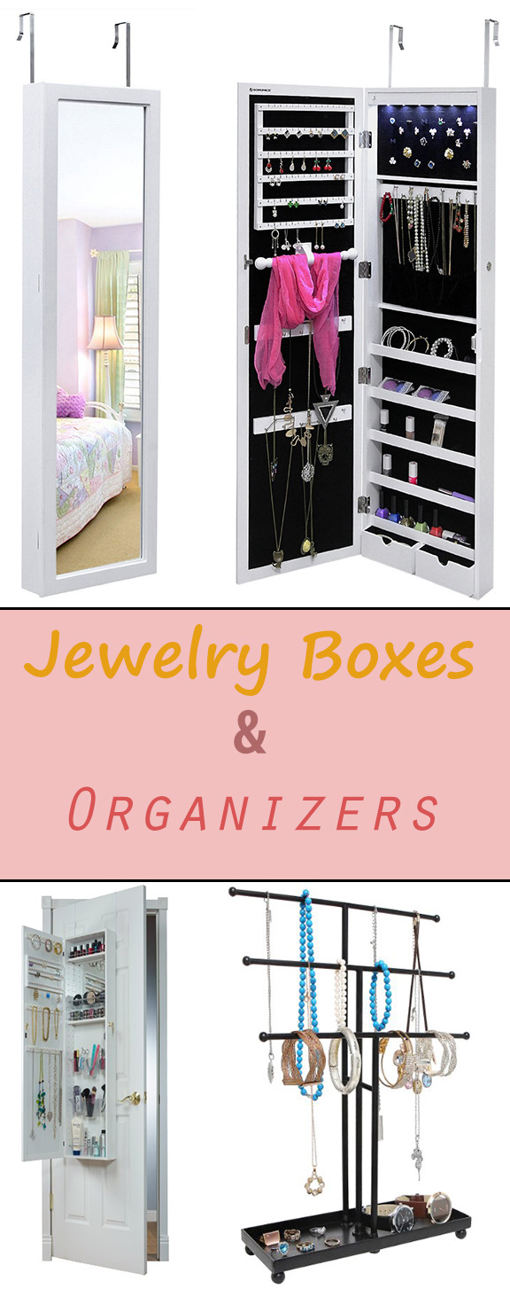 Jewelry Boxes and Organizers - Jewelry Boxes and Organizers