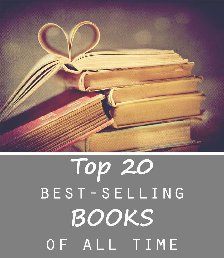 Top 20 best selling books of all time - Top 20 lists in Books
