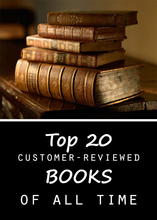Top 20 customer reviewed books of all time - Top 20 lists in Books