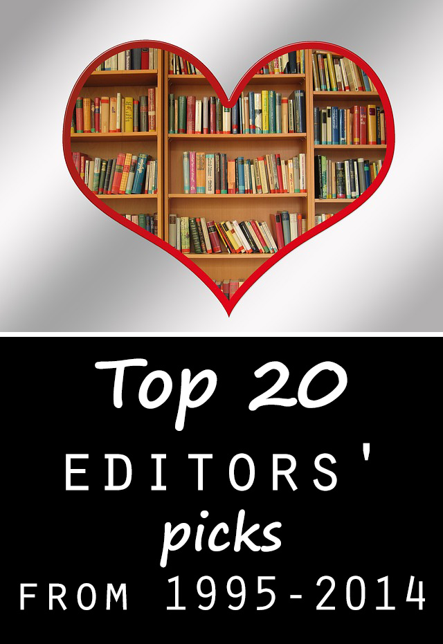 Top 20 editors picks from 1995 2014 - Top 20 lists in Books