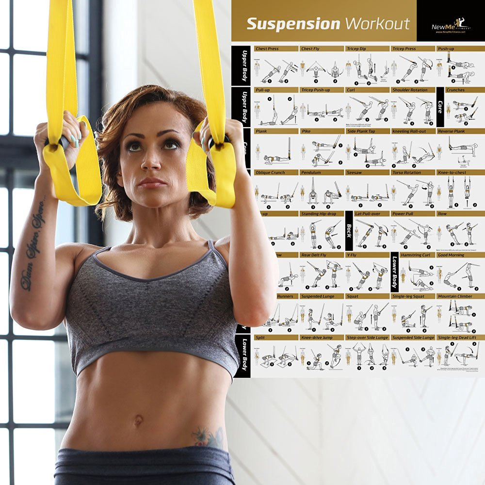 71dgG4iR3dL. SL1000  - The Best 17 Home Gym Posters to Motivate You!