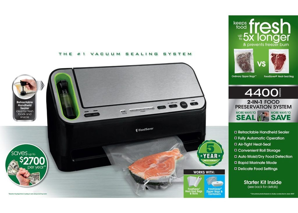 71fWI9xWKUL. SL1200  1024x734 - The best selling FoodSaver products on Amazon