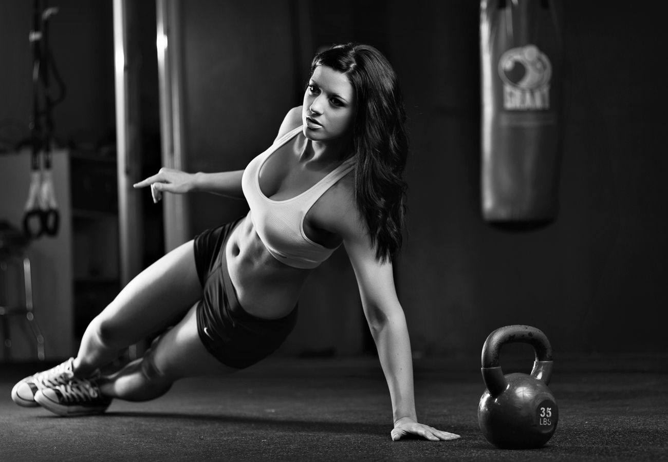 girl gym - The Best 17 Home Gym Posters to Motivate You!
