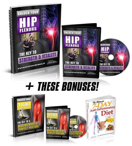 Unlock Your Hip Collage - Unlock Your Hip Flexors