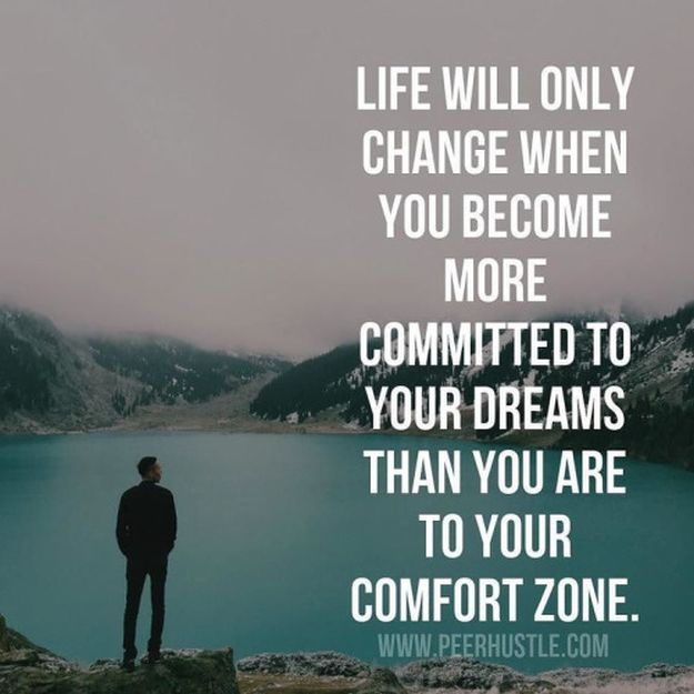 Be Committed To Your Dreams - 14 Inspirational Quotes To Change Yourself For The Better