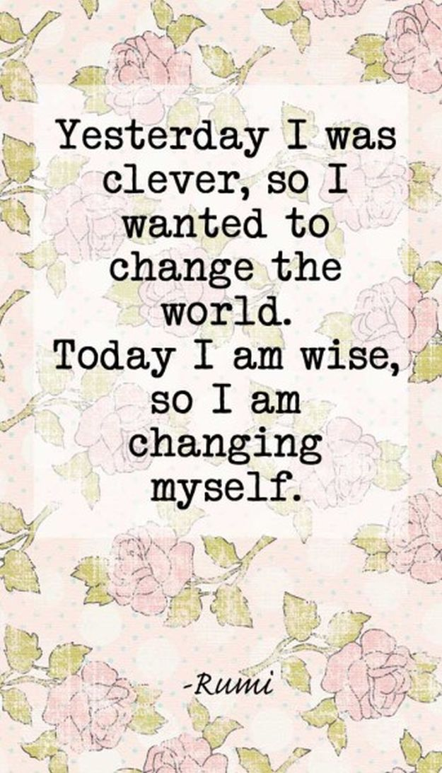 Today I Am Wise - 14 Inspirational Quotes To Change Yourself For The Better