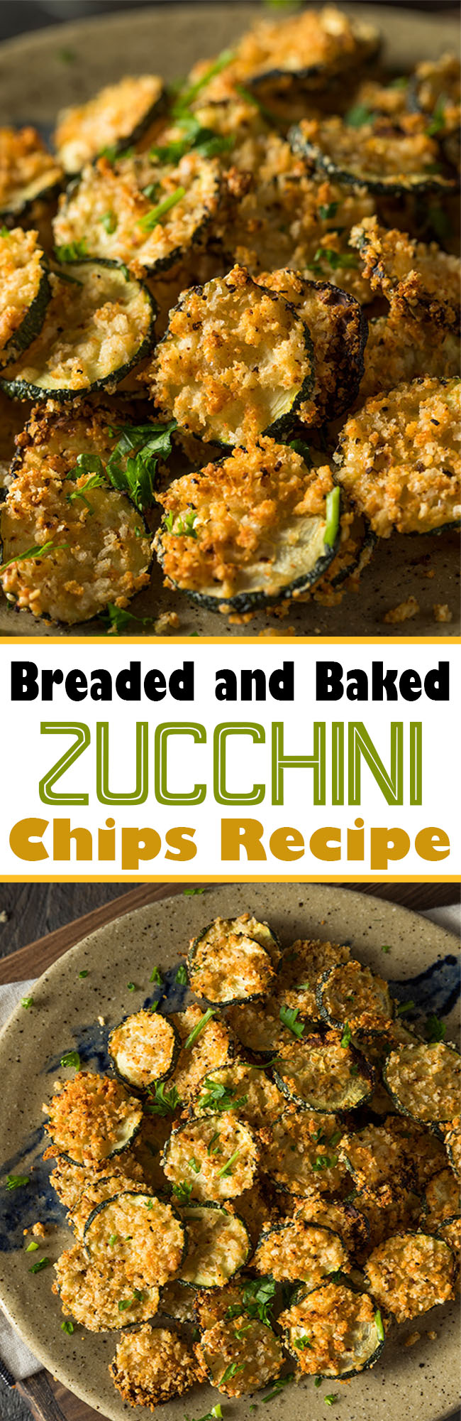 GRSAGRQGSFDSAF - Breaded and Baked Zucchini Chips Recipe